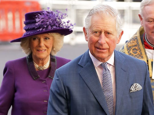 Prince Charles and his wife, Camilla Duchess of Cornwall,