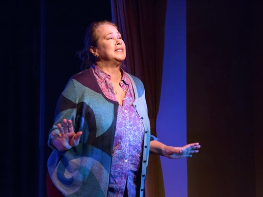 """Friday-Sunday: The Dezart Performs production of """"Chapatti,"""" featuring Dana Hooley, is at the Pearl McManus Theatre in Palm Springs."""