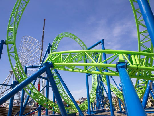 A new rollercoaster, named Hydrus, will soon open to the public at Casino Pier in Seaside Heights. The Hydrus replaces the Jet Star, which fell into the ocean after part of the pier was destroyed by superstorm Sandy in October 2012.