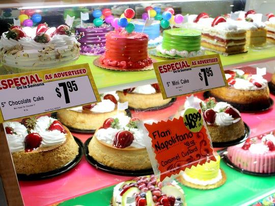 The bakery at Los Altos Ranch Market makes tres leches,