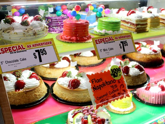 The bakery at Los Altos Ranch Market makes tres leches,
