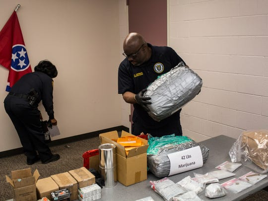 The Memphis Police Department Organized Crime Unit's seven-month investigation resulted in 25 criminal indictments and in the recovery of numerous drugs, guns, vehicles and more than $200,000 cash.