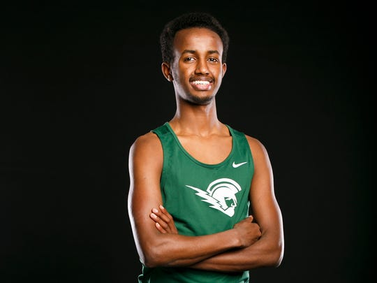 West Salem Ahmed Muhumed for the Statesman Journal Sports Awards on Wednesday, March 1, 2017.