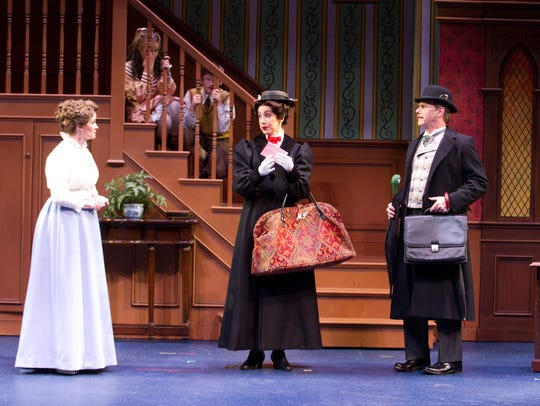 The musical Mary Poppins returns to the Alabama Shakespeare
