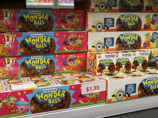 You can find a Wonder Ball, a candy cult favorite,