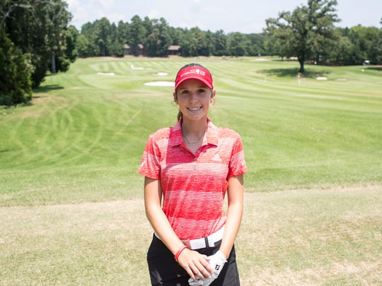 July 20, 2017 - Rachel Heck, a St. Agnes sophomore, 15, was the youngest competitor at Trump National Golf Club in Bedminster, N.J., this week and shot even-par for the second straight day to finish at 2-over for the tournament.