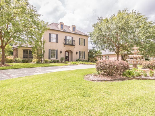 This 6 BR, 5 BA home is located at 110 Southwark Drive