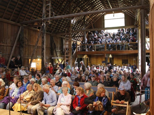 "The promise of more ""music, memories and magic""  attracted full houses to the former dairy barn that hosted the Olympic Music Festival for its first 32 years."