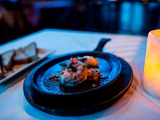 September 18, 2017 - Abita BBQ shrimp at Itta Bena