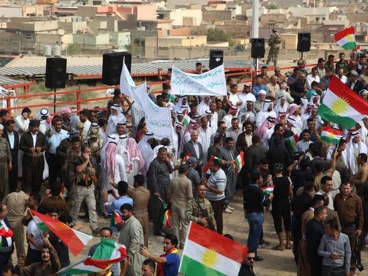 EPA IRAQ KIRKUK INDEPENDENCE RALLY POL CITIZENS INITIATIVE & RECALL IRQ