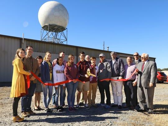 The University of Louisiana Monroe held a ribbon cutting for its Doppler radar on Wednesday.
