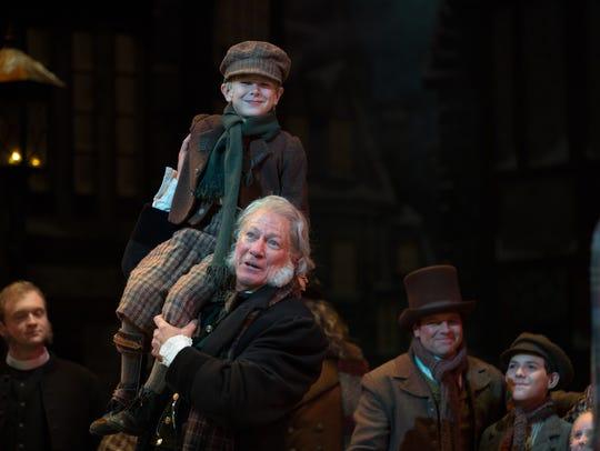 "Rodney Clark performs as Ebenezer Scrooge.  ""A Christmas"