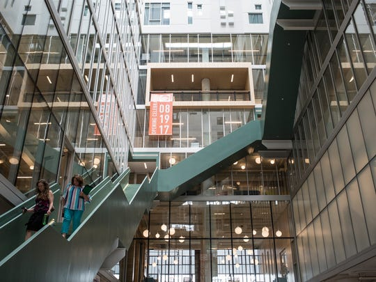 The Architectural Review places Crosstown Concourse