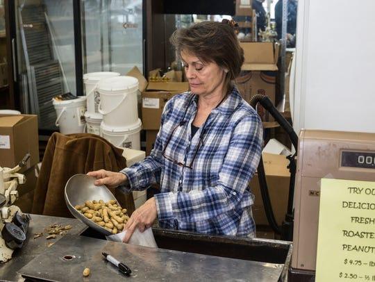 December 06, 2017 - The Peanut Shoppe, a Memphis landmark