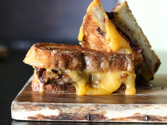 The American grilled cheese sandwich at Kitchen West,