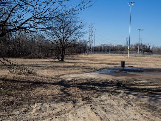 January 05, 2018 - A flood prevention project will raise parts of Rodney Baber Park nearest James Road by 12 feet and a new, lower tier closer to the river will rise by seven feet.