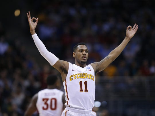 Former Iowa State star guard Monte Morris.
