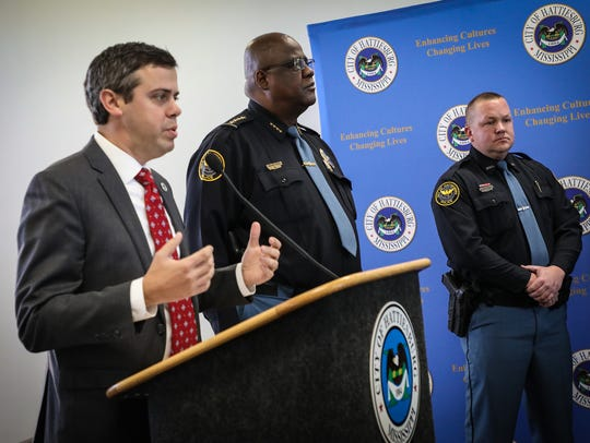 Mayor Toby Barker talks about adding new officers to