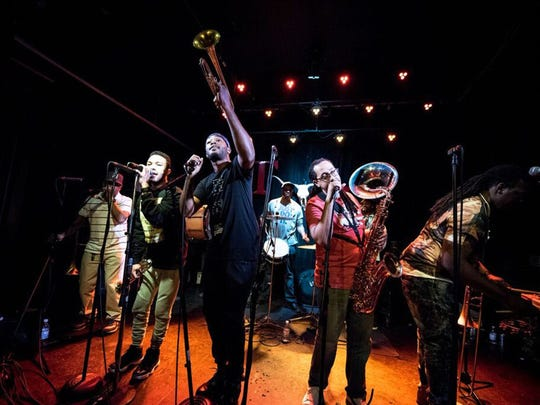 The Grammy-winning Rebirth Brass Band from New Orleans will play in a free concert Saturday, Feb. 3, 2018, during the DBA Mardi Gras Block Party in downtown Montgomery.