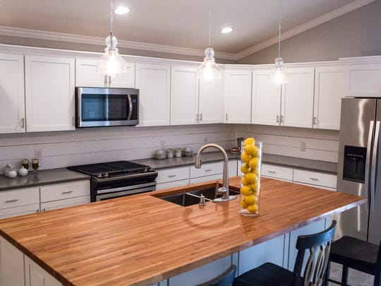 March 13, 2018 - A kitchen was added onto the home