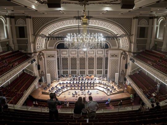 Inside Music Hall's renovated Springer Auditorium
