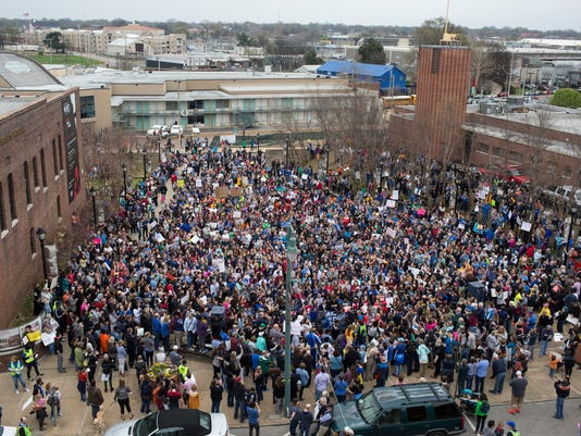 March for Our Lives 2018 Memphis