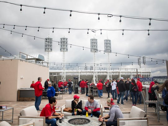 AC Hotel Cincinnati's new rooftop bar, the Upper Deck,