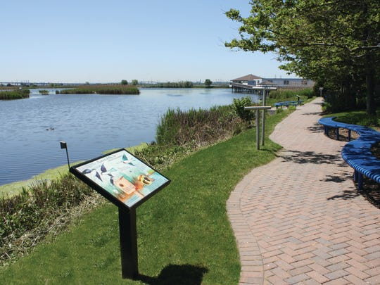 The Bergen County Audubon Society will host an Earth Day walk and activities on April 22 at DeKorte Park in Lyndhurst.