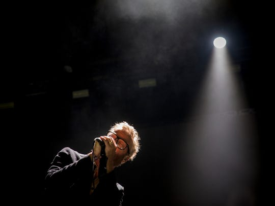 The National performs at Homecoming Festival on the