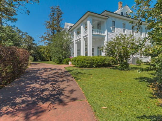 The estate sits on almost 3 acres in the middle of downtown Youngsville.