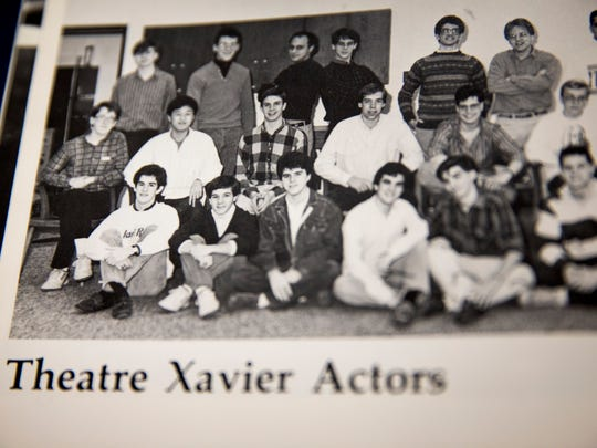 Theatre Xavier Actors pose for a photo for the 1988