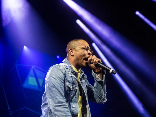 Ludacris has dropped out of Summerfest, but fellow Atlanta rapper T.I. has been added as a headliner for the Milwaukee music festival. He'll perform on the U.S. Cellular Connection Stage July 5.