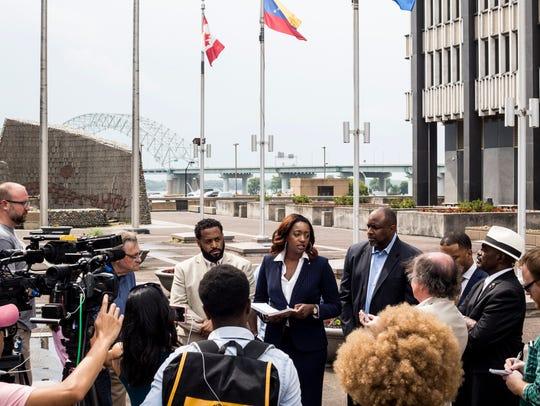 July 06, 2018 - London Lamar, president of Tennessee