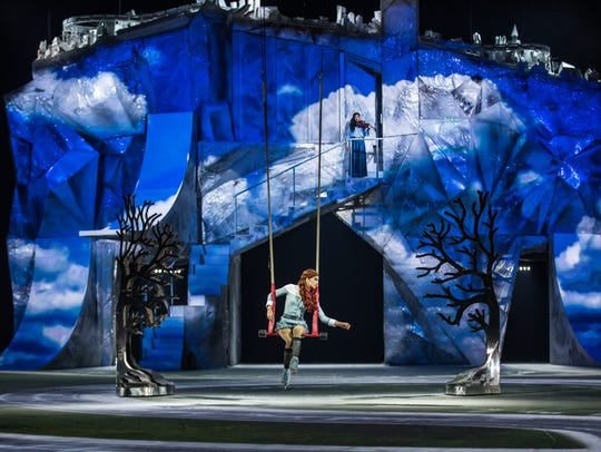 Performances continue this weekend of Cirque du Soleil's