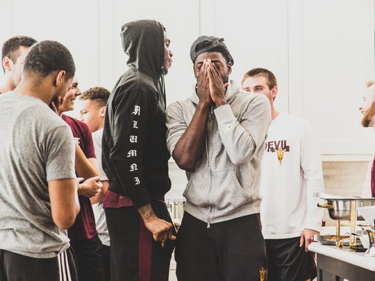 Will the ASU basketball team be celebrating a lengthy NCAA Tournament run? Dreaming is free, right?