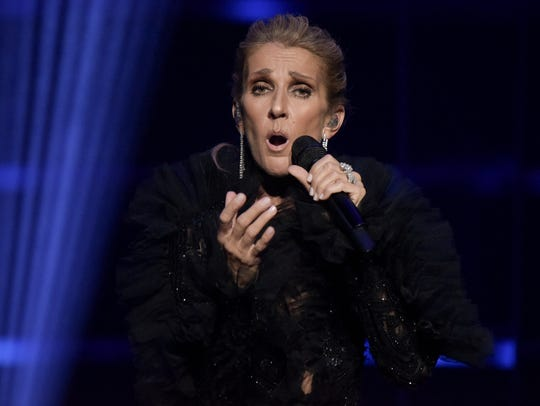 I don't want that luggage to be heavy,' Celine Dion says of losing her husband to cancer three years ago. 'I want that luggage to be giving me strength and courage and passion.