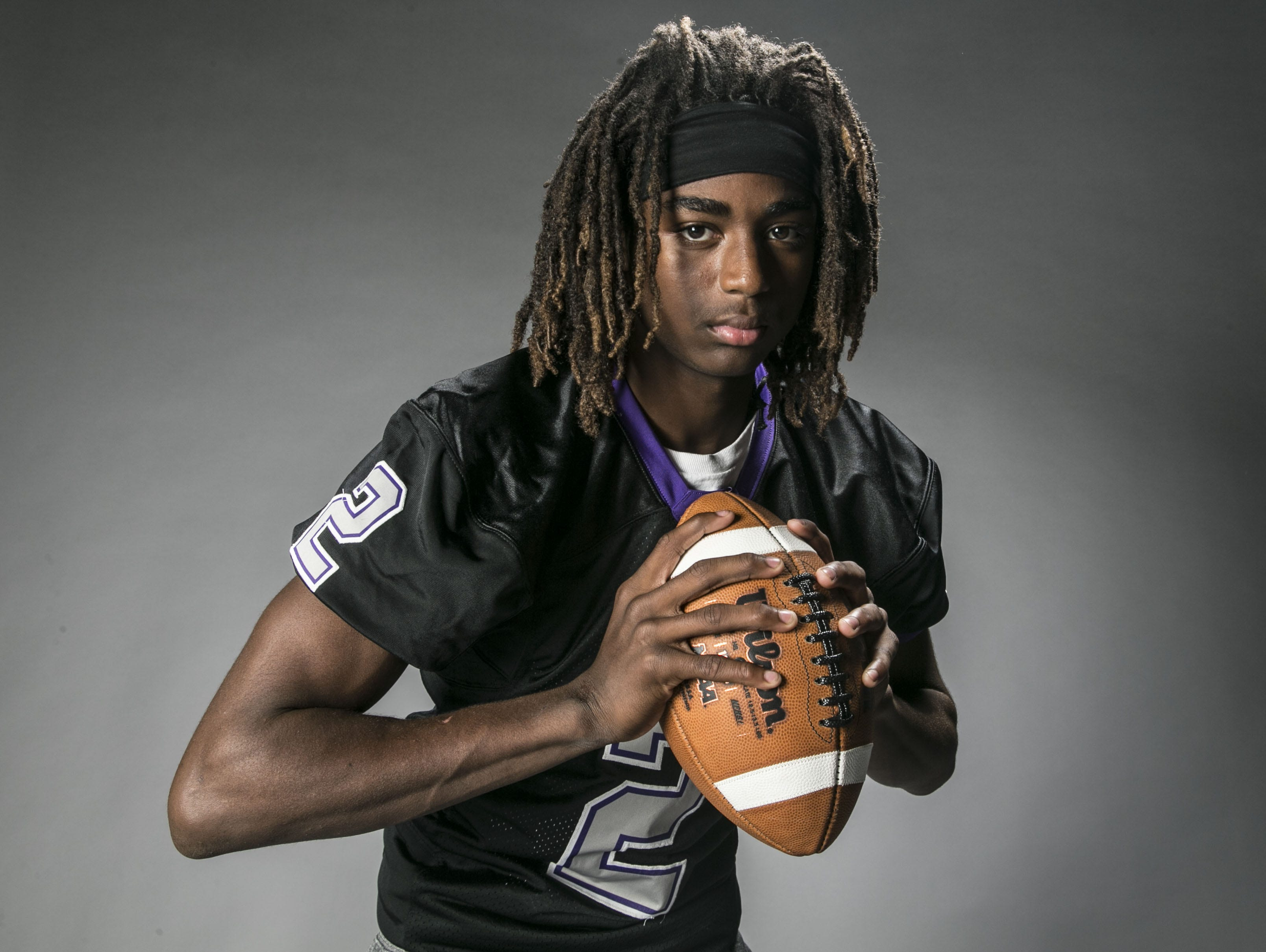 Tavion Allen, Free safety for Laveen Cesar Chavez High School's football team, is azcentral sports' November Athlete of the Month for the Arizona Sports Awards.