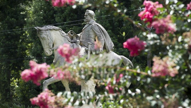 An online petition calling for the removal of the statue of Robert E. Lee in J.F. Gregory Park has over 1,600 signatures, but Richmond Hill Mayor Russ Carpenter says Georgia law prevents the removal of the statue.