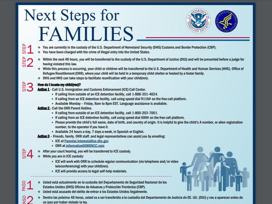 Immigration flier