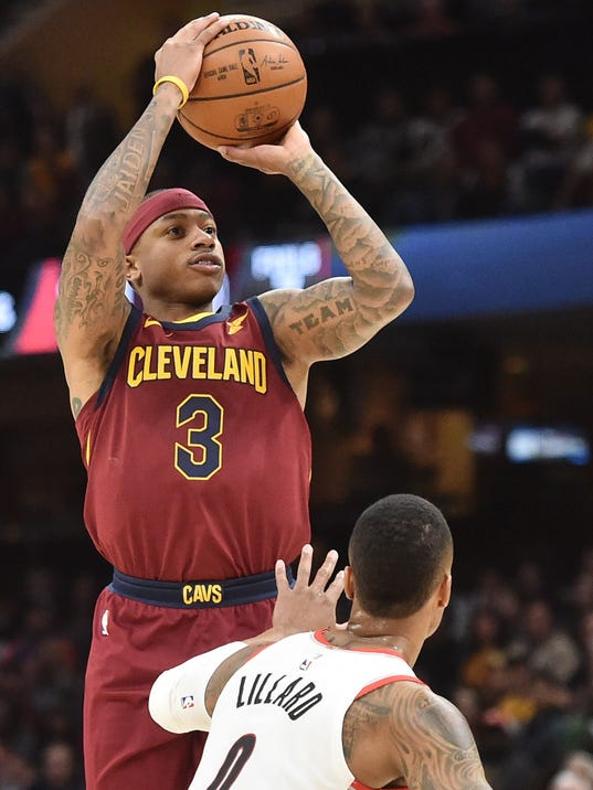NBA: Portland Trail Blazers at Cleveland Cavaliers