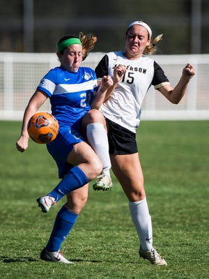 Anderson University women's soccer tournament run ended versus the fifth-ranked team in the Southeast, Carson-Newman.