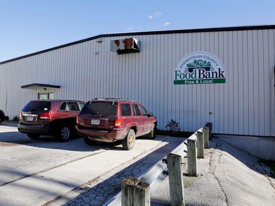 The Sheboygan County Food Bank as seen Wednesday November