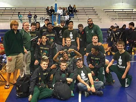 The Lincoln wrestling team went 5-0 at the Jesuit Dual Tournament, taking down four state-ranked teams in the process.