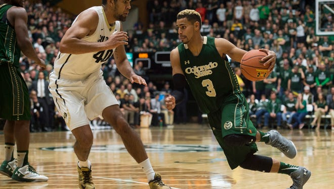 Colorado State University guard Gian Clavell averaged 20.8 points and 6.9 rebounds per game before suffering season-ending injuries a year ago. He's back this season on a team that has just 10 available players with five Division I transfers sitting out.