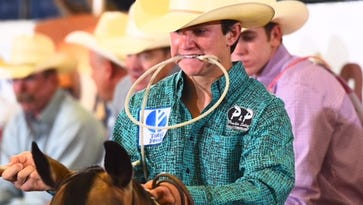 HS STATE RODEO: Mertzon's West eyes all-around title