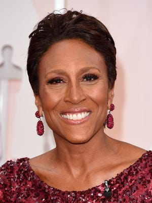TV personality Robin Roberts