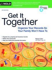 Getting your records in order can be a big help, to