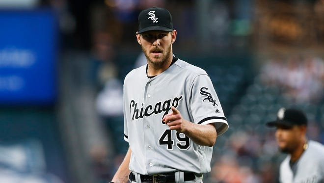 Chris Sale has 14 wins for the White Sox this season.