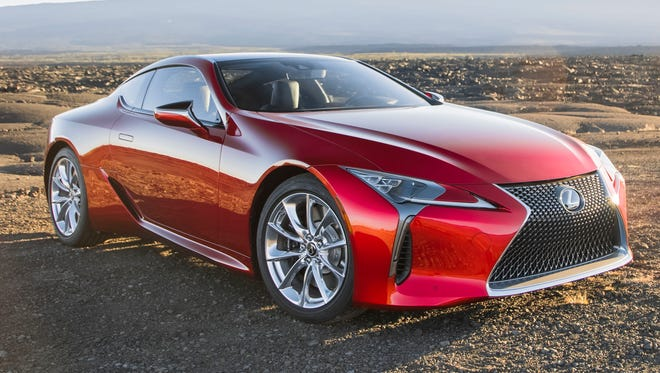 Lexus offers its stunning new LC coupe