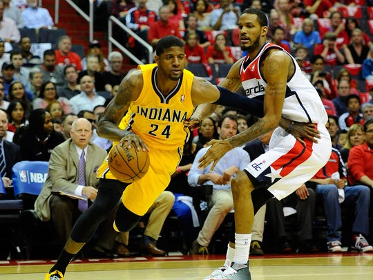 Paul George led the charge from a 19-point deficit